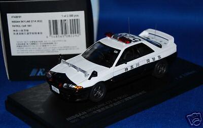 NISSAN SKYLINE R32 GT-R PATROL CAR 1991 KANAGAWA KENKEI