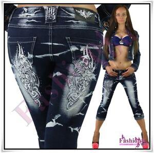 Kleidung & Accessoires Willensstark Sexy Women's Capri Shorts Ladies Crazy Age Cropped Jeans Size 6,8,10,12,14 Uk Shorts & Bermudas