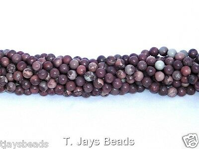 Semi Precious Gemstone Rounds Beads for Jewellery Making - 6mm (60-66 beads)