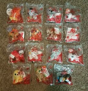 Mcdonalds Teenie Beanie Boos Happy Meal Toys Complete Set Of 15 New ... 93b369bc50a