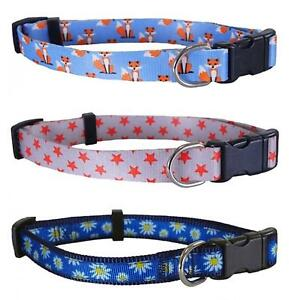 Rosewood-Wag-N-Walk-Adjustable-Nylon-Fashion-Dog-Collars-Leads