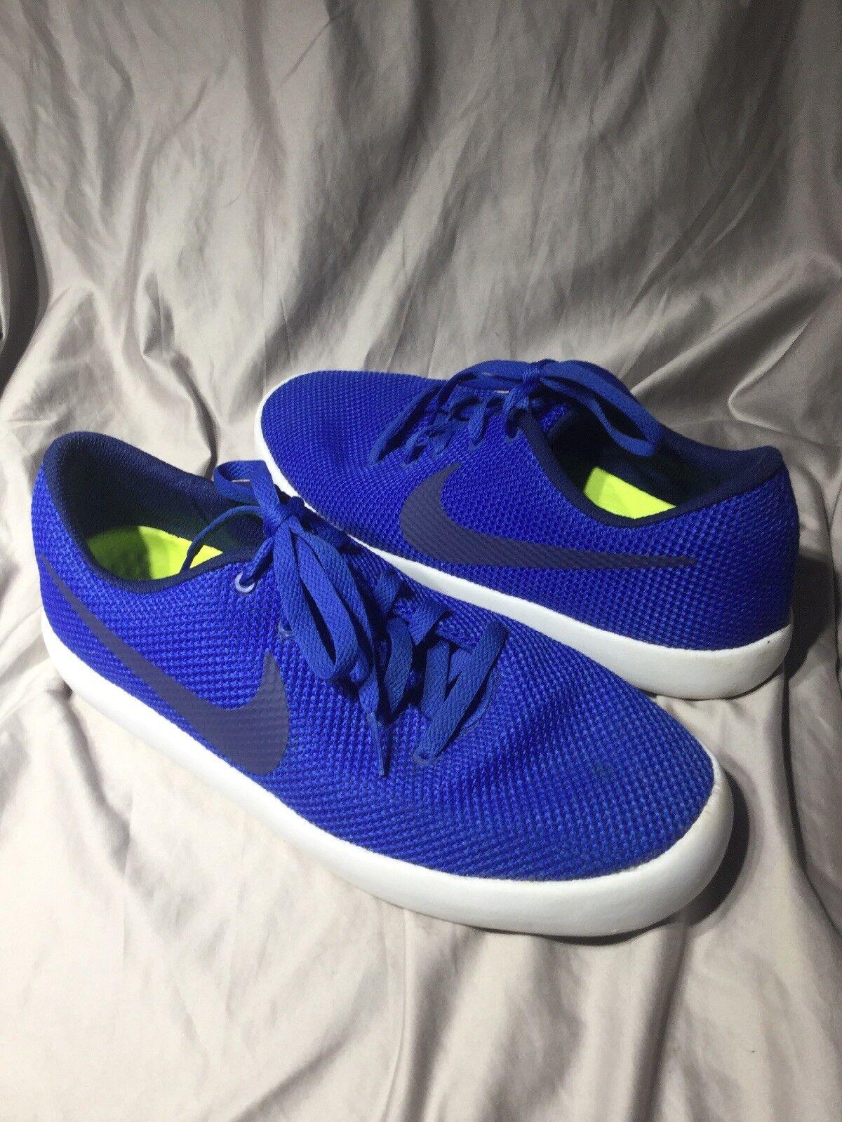 Nike mens 10.5 Essentialist Sneaker shoes sz 10.5 mens blue 819810 441 ae6716