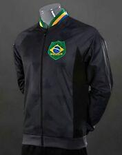 MEDIUM adidas Originals BRAZIL TEAM TRACK TOP JACKET Fairway / Carbon F77470