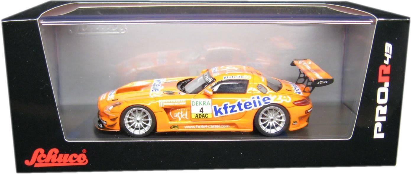Schuco 08905 Mercedes-Benz SLS AMG GT3 Stoll   Dobitsch 1 43