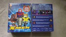 Marvel Minimates X-MEN DARKTIDE 4 Pack OPEN 2005 DVD Cyclops WOLVERINE Magneto