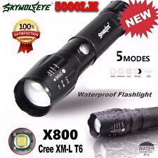 5000LM Alimentazione Tattico torcia LED X800 Zoom Super Brillante Militare
