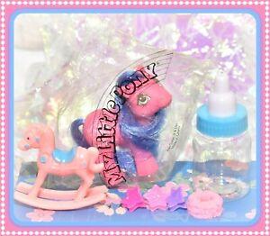 ❤️My Little Pony MLP G1 Vtg 1984 Chuck E Cheese Exclusive Pink Promo Baby NIP❤️