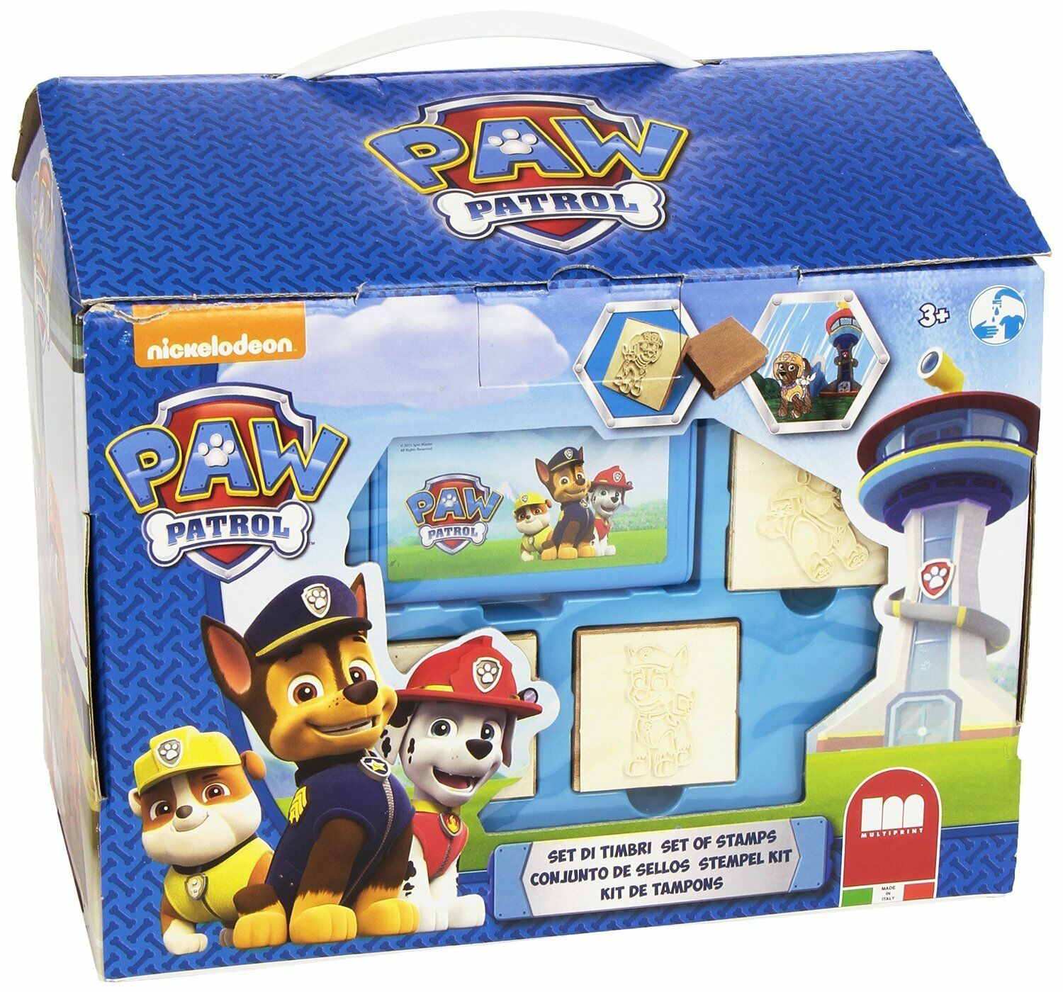Chest Crafts Patrol Canine Paw Patrol Home Fun Markers Stamps