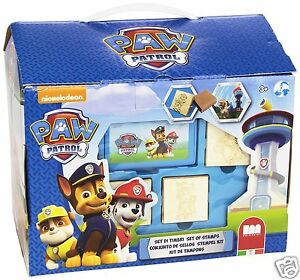 Canine Patrol Chest Crafts Paw Patrol House Fun Markers Stamps Ebay