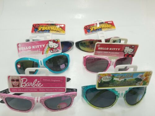 Kids Sunglasses Disney Barbie Spiderman X-Games Hello Kitty Choose Your Style