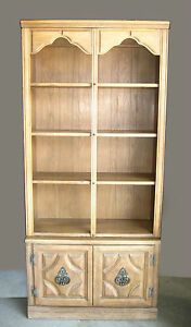 Vintage-Mid-Century-Modern-Wood-Bookcase-by-William-Furniture-Corp-Boston-Stack