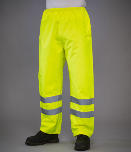 Yoko Hi-Vis Impermeabile Sovrapantaloni Workwear Industrial Safety Impermeabile YK210