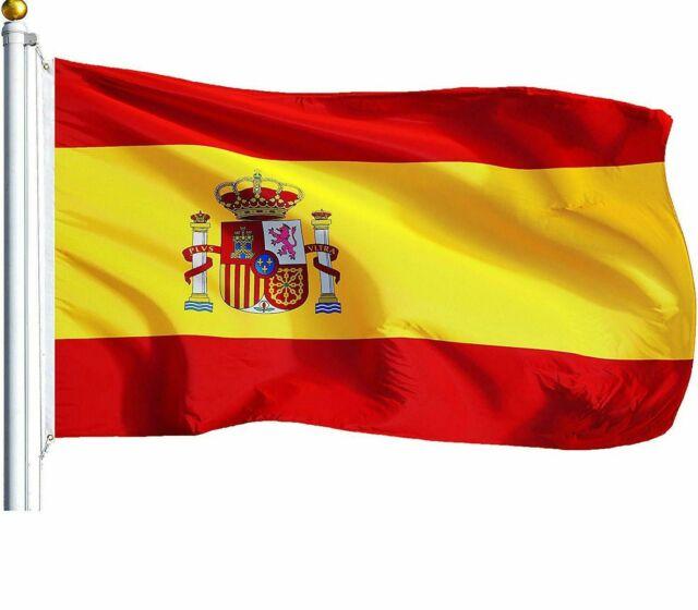 Large 3'x5' Spanish Flag The Spain National Flag ESP GOCG for sale | eBay