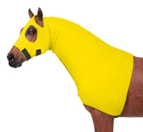 Cerniera Completa separazione in grandi//Giallo Copertura Viso E Collo Cappuccio elastico cavallo