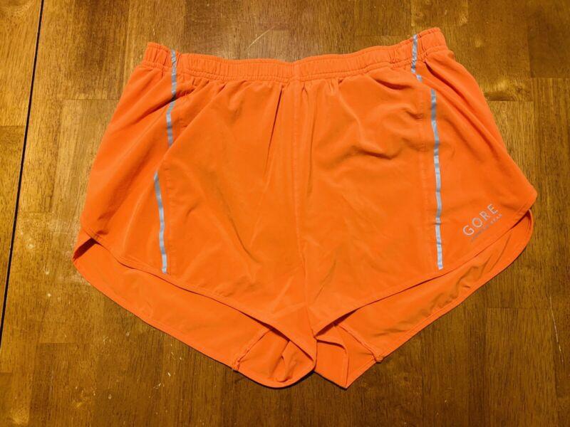 Gore Running Wear Orange Shorts Women's Size Large