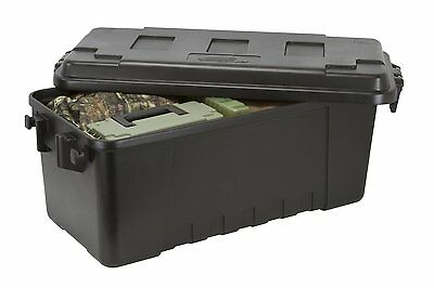 Plano 1719 Hard Plastic Storage Box, Trunk, Tool Military Army Kit Locker