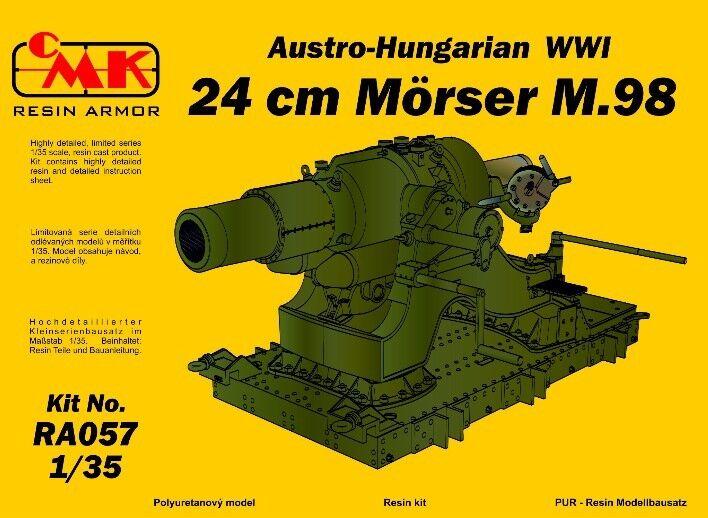 Cmk 1  35 Austro -Hongrois 1 65533;65533; re GM 24CM Morser M.98 \\35;Ra057