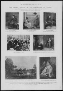 1902-Antique-Print-LONDON-Gassinot-Bequest-Corporation-Millais-Leslie-215