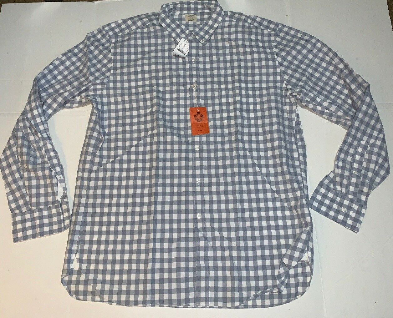 Brand New- J. Crew 2-ply Button Front T-Shirt Mens (Size XL)