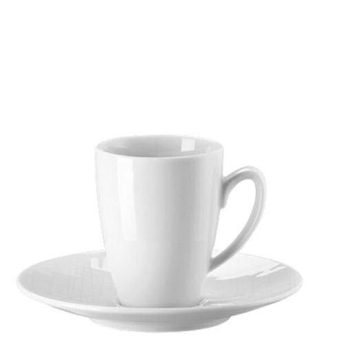 Rosenthal - Mesh Bianco -  6 Tazze Caffè Espressp c piatto - Rivenditore
