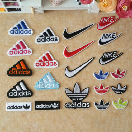 Sports Logo Mixed 22//25//34//81PCS Embroidered Applique Iron on Sew on patch Badge