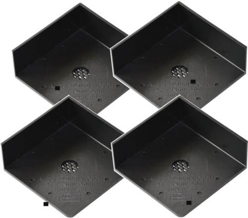 HR GRIP Kofferraumteiler Antirutschwinkel 4er Set Anti Rutsch Winkel Ecken
