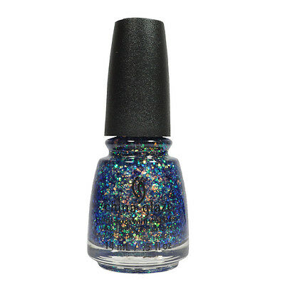 China Glaze Nail Polish Lacquer 83411 Moonlight The Night! 0.5oz