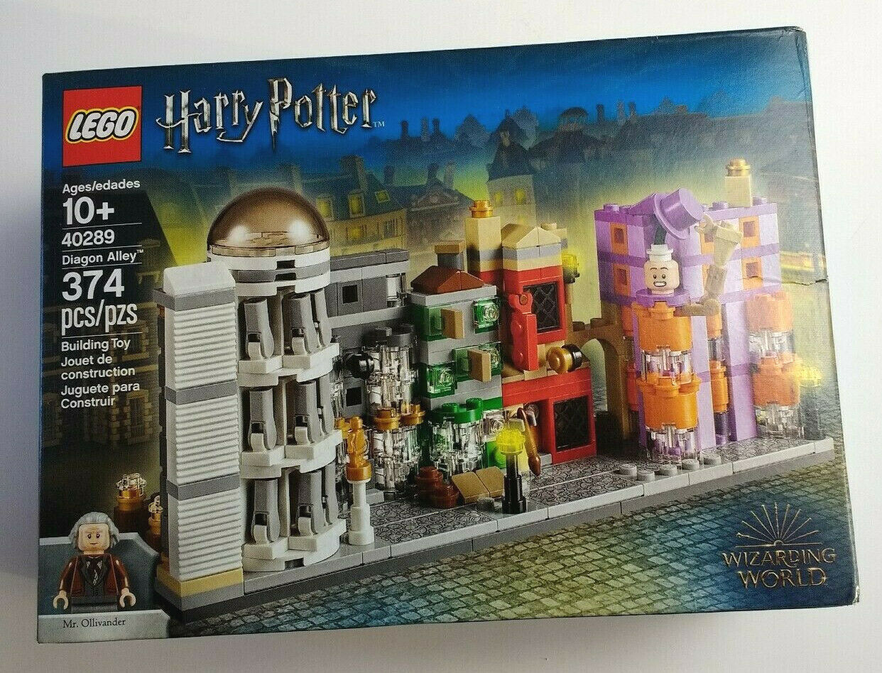 LEGO Harry Potter Diagon Alley 40289 40289 40289 New Factory Sealed Box Dented see pictures 738471
