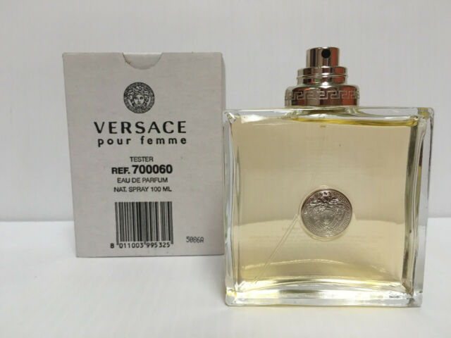 Versace Pour Femme Signature Eau De Parfum Tester No Cap 34 Oz