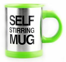 Self Stirring Mug Coffee Cup Auto Mixer Drink Tea Home Insulated Stainless 400ml