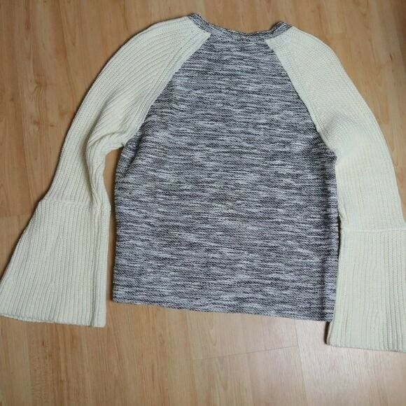 Dolan Textured Knit Bell Sleeve Sweater Sz S - image 6