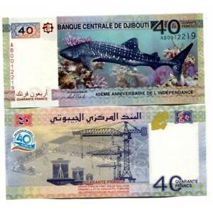 P-46 Djibouti 40 Francs 2017 UNC