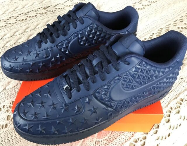 detailed look 9d1ac d1ee8 Nike Air Force 1 Lv8 VT Star 789104-400 Midnight Independence Day Shoes  Men s 17 for sale online   eBay