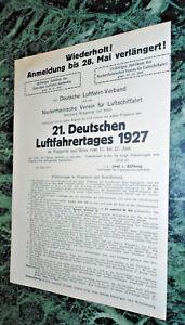 21-Deutscher-Luftfahrertag-Juni-1927-Wuppertal-Bonn-Luftschiffe-Anmeldung