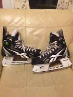 Reebok 11K Pump Hockey Skates - Size 11.5e - Hardly Used!