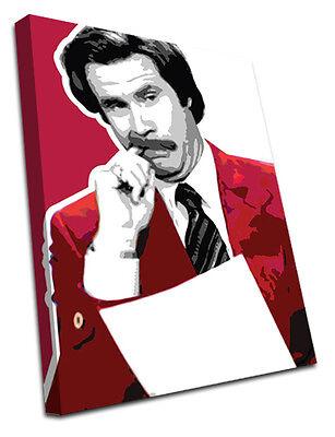 0170 Anchorman Canvas Wall Art Print Film Movie Ron