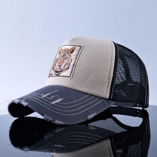 Motivo Animali Berretto da Baseball Trend Cappello Mützel Mode Cat Tiger Lion