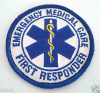 Emergency Medical Care First Responder Emt Fire Rescue Patch Pm3962 Ee