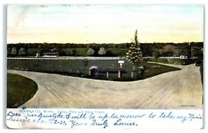 1907-Mankato-MN-Sibley-Park-and-Race-Track-TUCK-Postcard