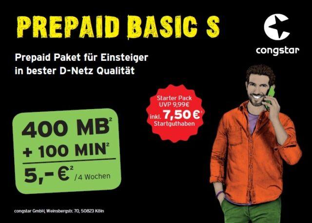 Congstar Prepaid Karte Kaufen.Congstar T Mobile 0171 83 95 700 Sim Karte 10 Guthaben Prepaid