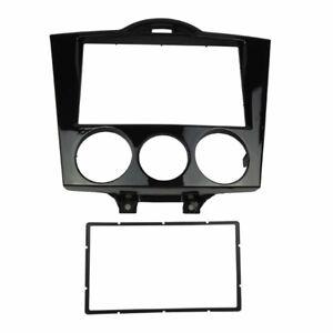2-Din-Radio-Fascia-for-Mazda-RX-8-RX8-Dash-Facia-Trim-Kit-Adapter-Panel-Frame