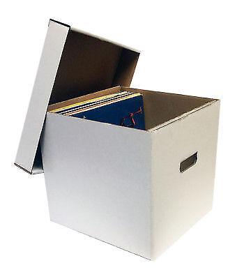 15 Max Pro Cardboard 33 1 3 RPM LP Album Record Storage Boxes