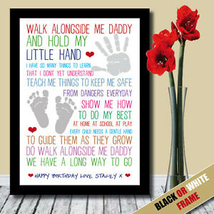 Image Is Loading PERSONALISED Dad Daddy Fathers Day Birthday Present Poem