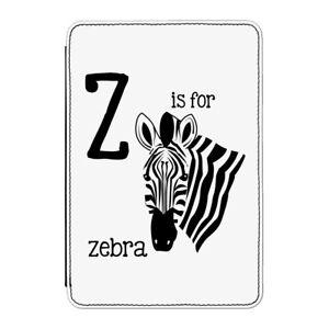 Z-e-per-Zebra-Custodia-cover-per-Kindle-Paperwhite-DIVERTENTE-ALFABETO-ANIMALI