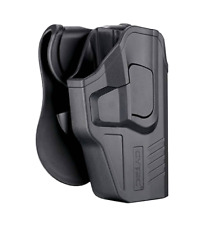 For Glock 19 23 32 (Gen 3/4/5) Level 2 OWB Paddle Holster w Quick Release Button