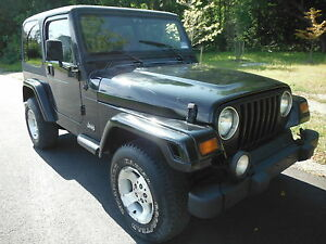 1999 jeep wrangler 2 door hard top ebay. Black Bedroom Furniture Sets. Home Design Ideas