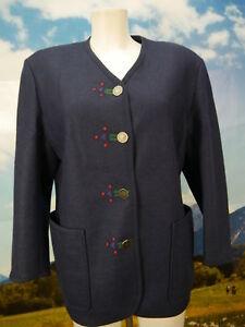 Trachten Walk Veste Veste Besatz subtile Mint En Easy Bleu 38 Jacket Gr x5BXAw