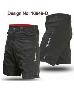 Mountain-Bike-Shorts-DEKO-Summer-Baggy-Short-MTB-DKBS-110-Cycling-Black-Red