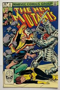 The New Mutants #6. (Marvel 1983) VF+ Bronze age Classic.