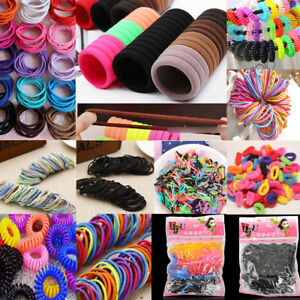 50PCS-Women-Girls-Hair-Band-Ties-Rope-Ring-Elastic-Hairband-Ponytail-Holder